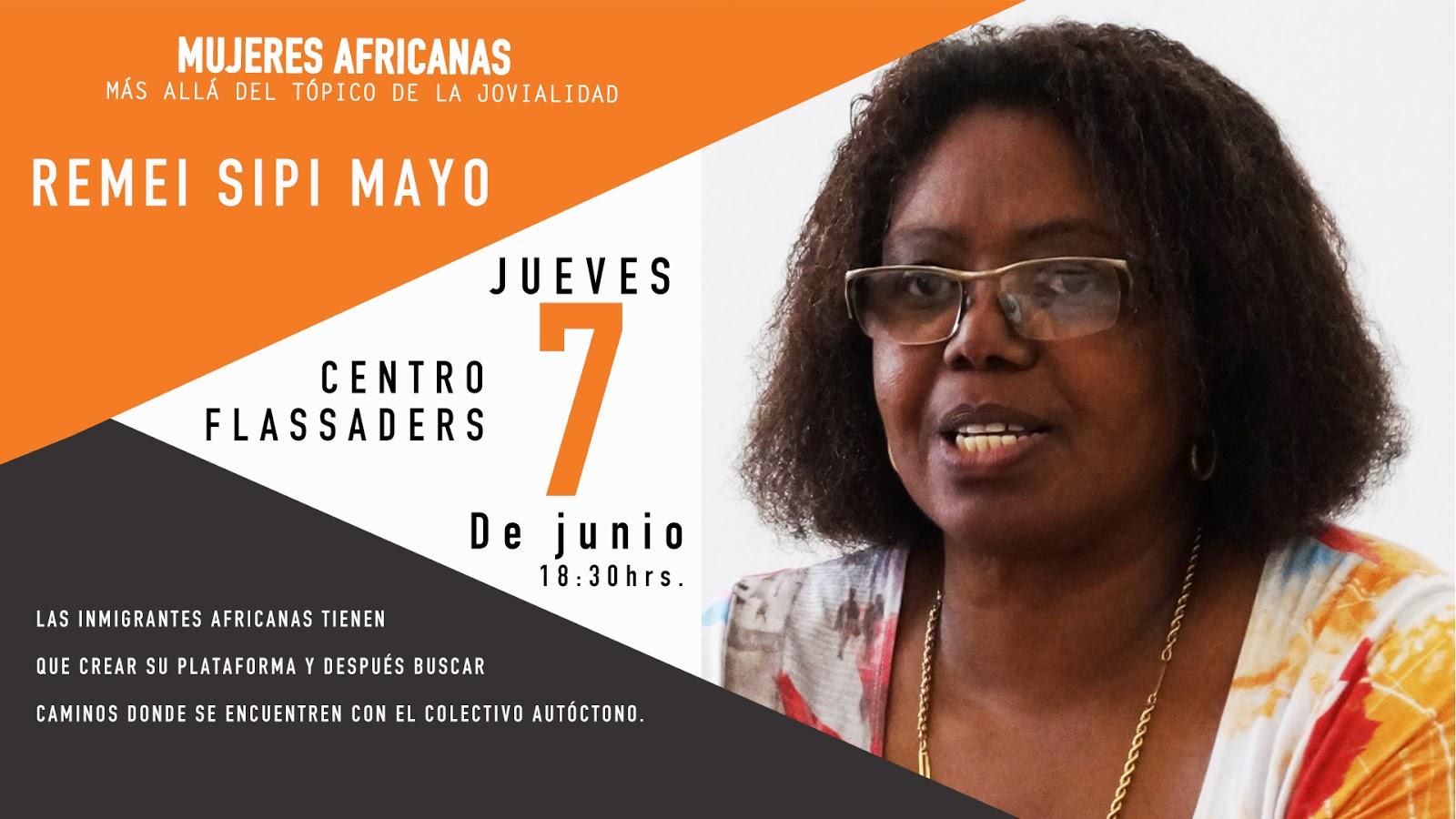Remei Sipi- Mujeres africanas más allá del tópico de la jovialidad – Africana jones